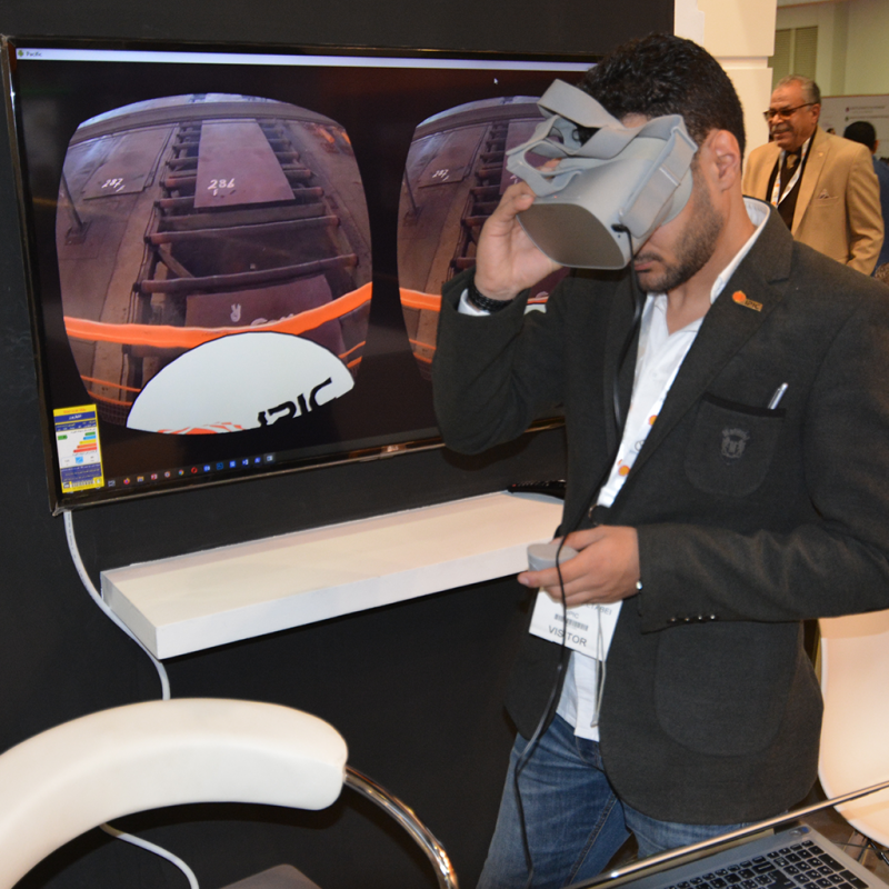 IPIC VR at Egypt Petroleum Show 2020
