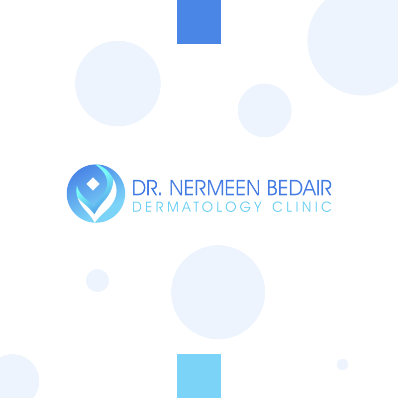 Dr. Nermeen Bedair Dermatology Clinic Visual Identity