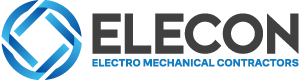 elecon logo with icon and typography